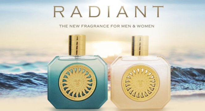 Radiant perfume for men and women